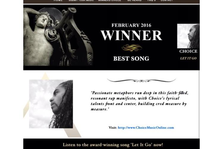 Winner at The Akademia Music Awards